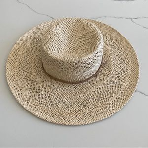 New: Country Road Woven Summer Straw Hat, Natural